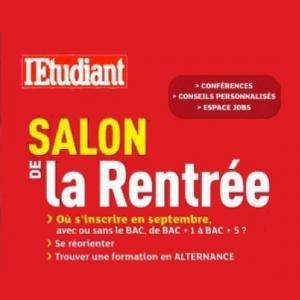 Salon de la Rentrée de Paris les 4 et 5 septembre