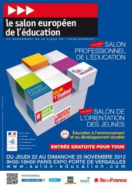 Salon européen de l'éducation du 19 au 22 novembre